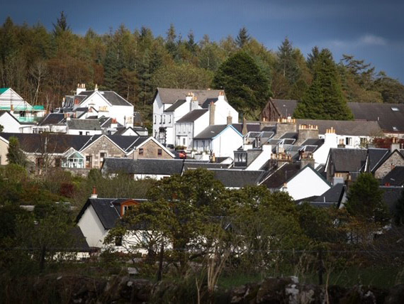 View of Gartmore, Stirling
