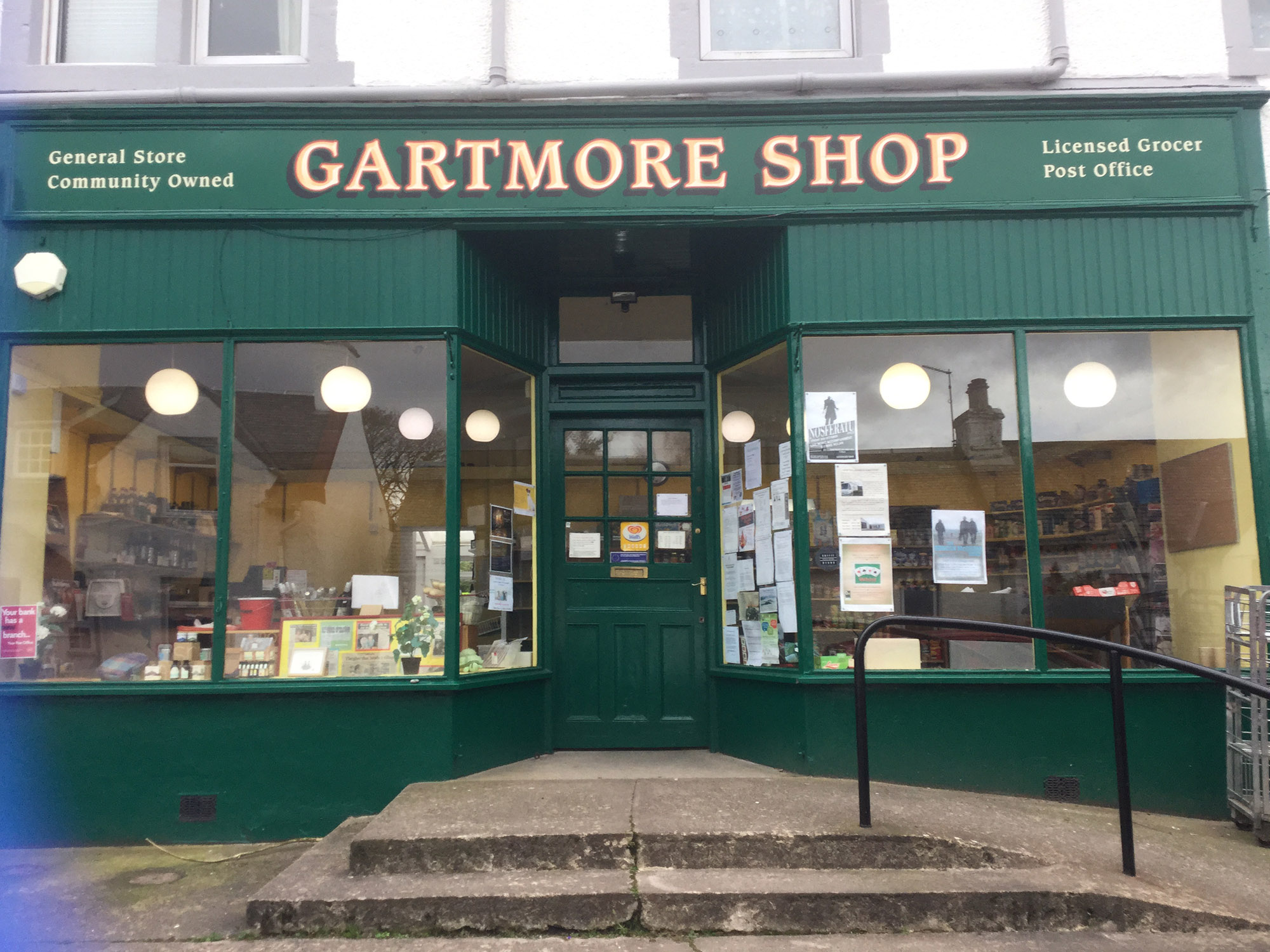 Gartmore Shop & Post Office, Stirling, Scotland
